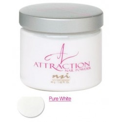 Poudre Attraction Pure White 40g